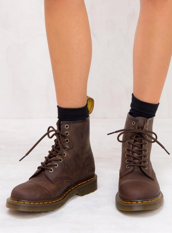 98863118231 Dr. Martens 1460 Gaucho Crazy Horse Boots | Shoes in 2019 | Doc ...