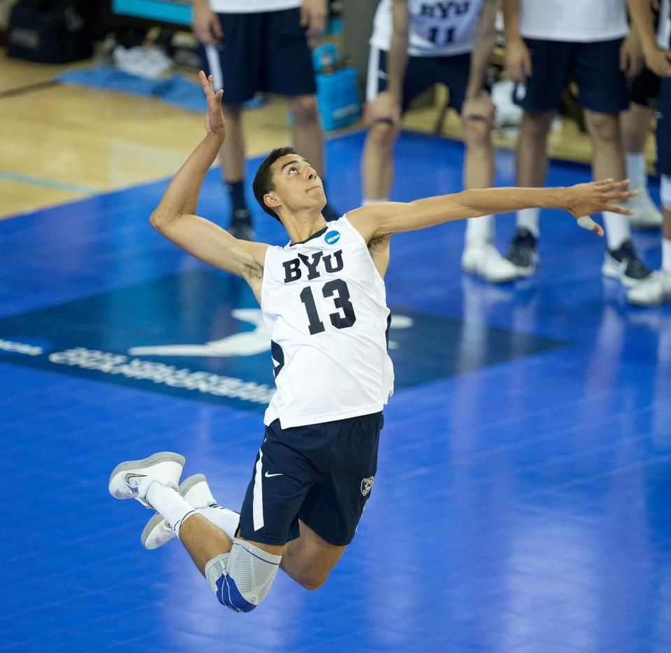 Ben Patch Ncaa Finals Byu Uc Irvine Byu Suffers Tough Loss 3 0 Photo By Jaren Wilkey Byu Copyright Byu Photo 2013 All Rig Mens Volleyball Byu Sports Byu