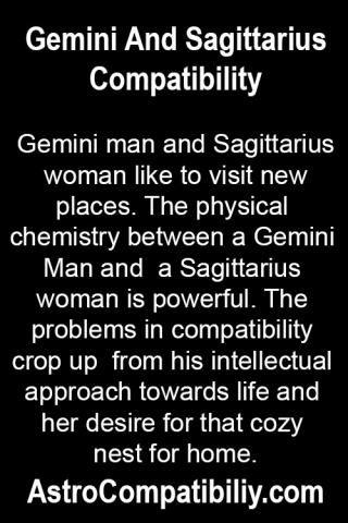 Sagittarius man and Sagittarius woman