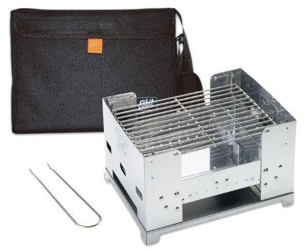 Esbit Stainless steel charcoal grill BBQ Box