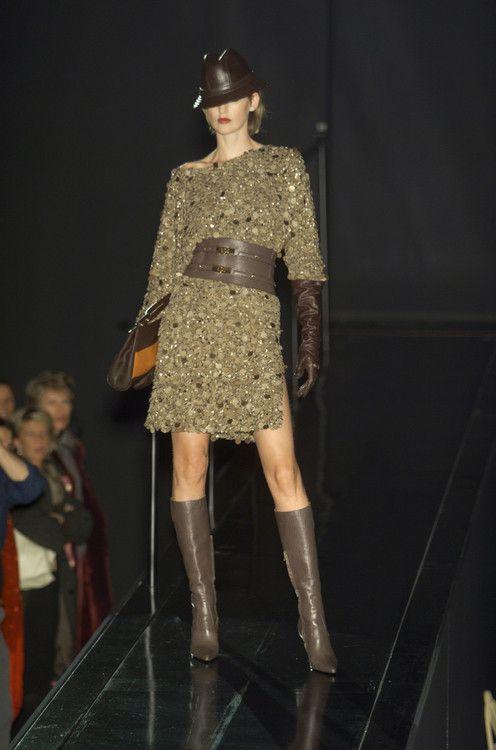 Borbonese runway show for Milan Fashion week Fall 2001