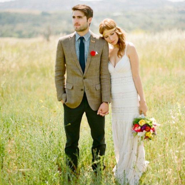 groomsmen attire rustic wedding | this week\'s wedding obsession ...