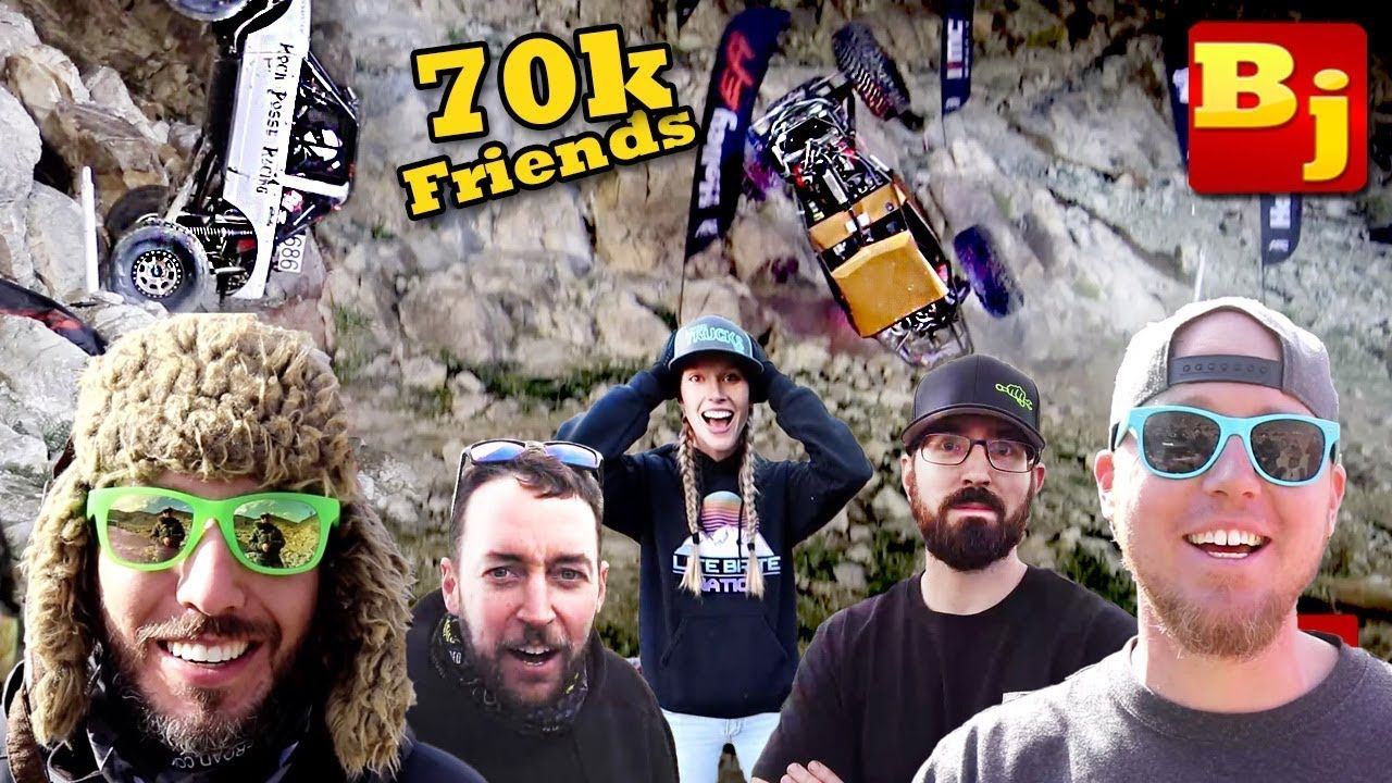 Wheeling with 70,000 Friends at an Ultra 4 Race!!! (KOH