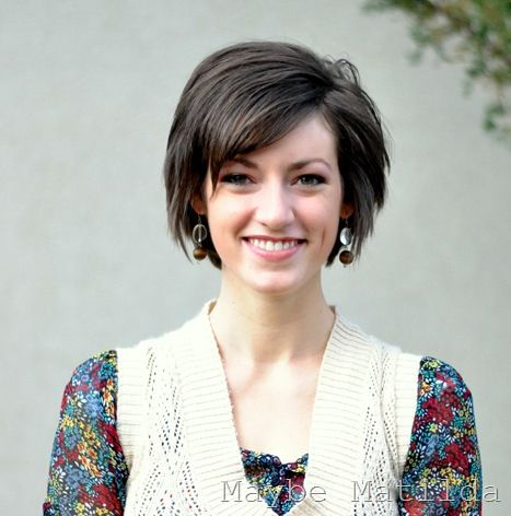 Growing Out Pixie Cut Trim Back To Avoid The Mullet A Line Bob
