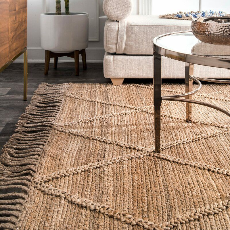 Augustine Hand Tufted Natural Area Rug In 2020 Natural Area Rugs Area Rugs Joss And Main