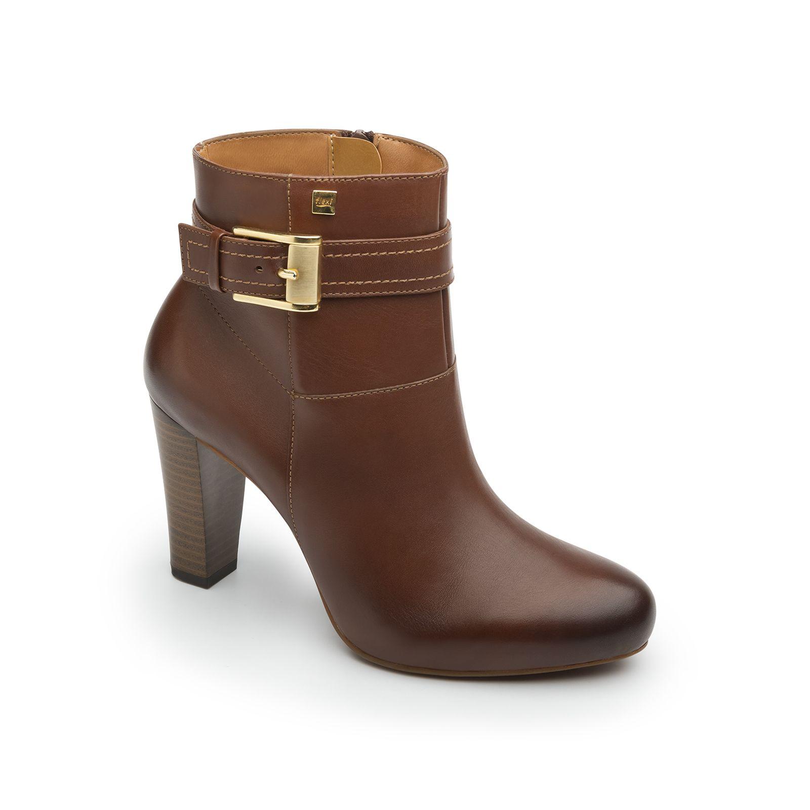 Botin Tacon Hebilla En 2020 Zapatos De Tacones Botas De Tacon Y Zapatos Botines