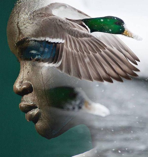 Surreal portraits by Antonio Mora - ego-alterego.com