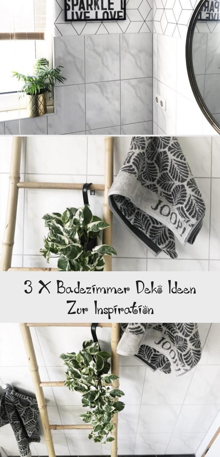 3 X Badezimmer Deko Ideen Zur Inspiration Decor Ladder Decor Home Decor