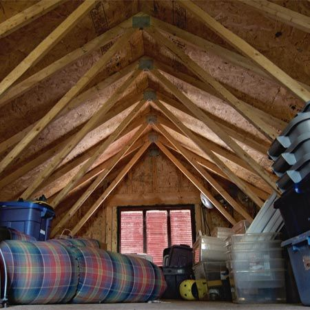 Making Garage Building Plans Garage Building Plans Blown In Insulation Finished Attic