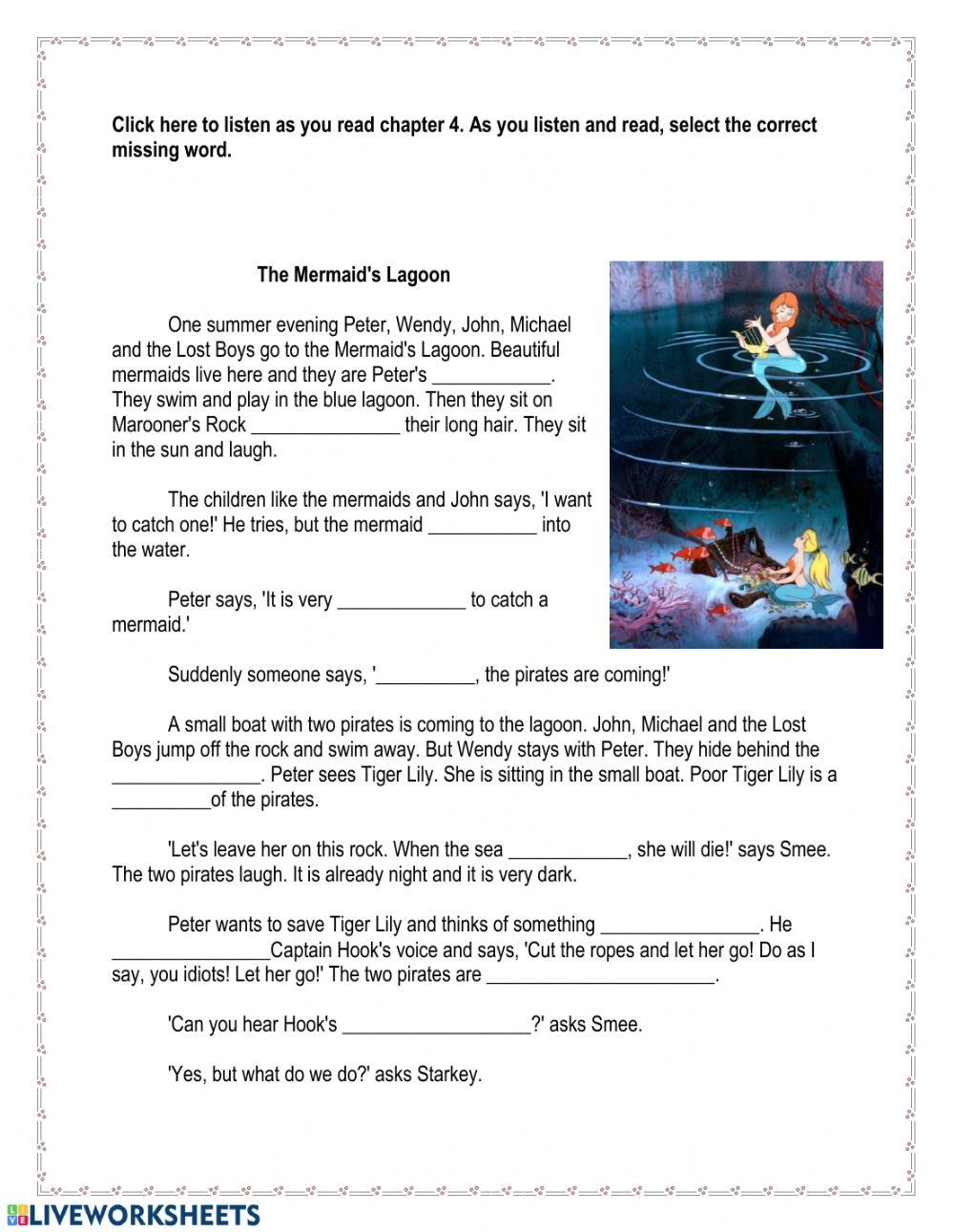 Reading Comprehension Online Worksheet For Grade 5 You Can Do The Exercises Online Or Download The In 2021 Reading Comprehension Esl Vocabulary Vocabulary In Context [ 1291 x 1000 Pixel ]