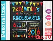 First Day of School Sign First Day of School Chalkboard Sign Printable 1st day of kindergar First Day of School Sign First Day of School Chalkboard Sign Printable 1st day...