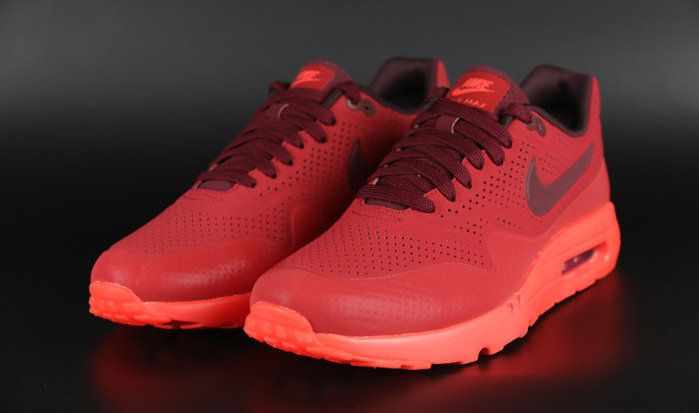 watch 5377b d39e0 Nike Air Max 1 Ultra Moire Gym Red University Red Deep Burgundy Team Red  705297 600