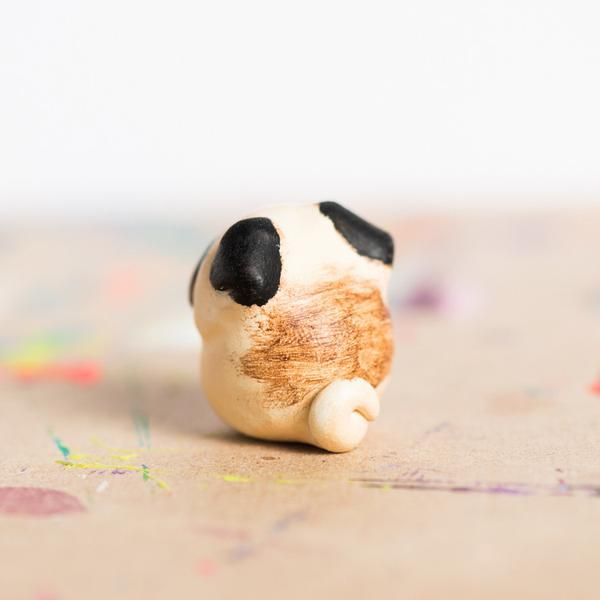 Le Pug Fat Fat Totem, Fawn   MADE TO ORDER