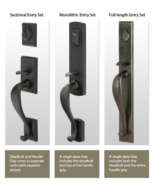 Door Lock Plate Styles Front Door Hardware Front Door Handles