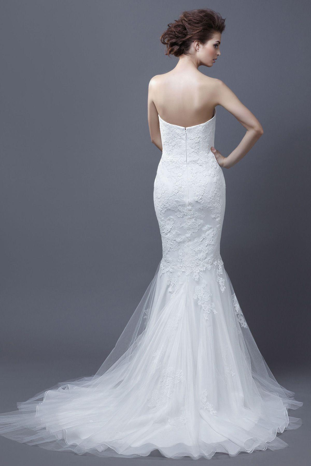 Enzoani Halia Back   one fine day...   Pinterest   Wedding dress and ...
