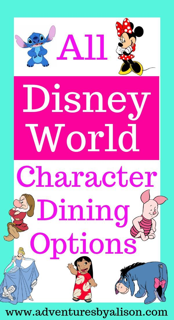 Do you get overwhelmed when planning Disney World Character dining experiences? …