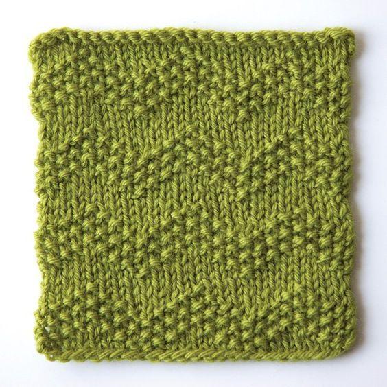 How to knit seeded chevron stitch: | Knit Stitches | Pinterest ...