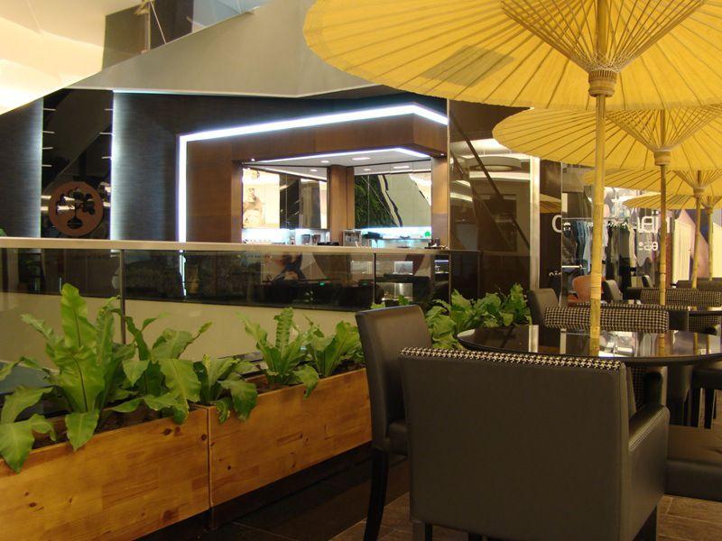 Cafeeiro - Center Shopping Uberlândia Avesso Arquitetura e Gerenciamento Alexandre Bueno e Paulo Sérgio Silva