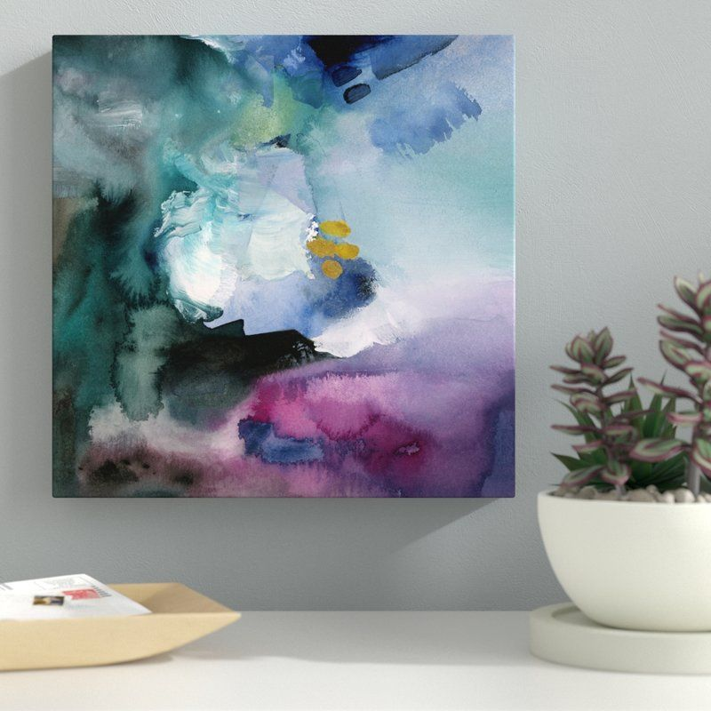Nebulosa Abstract Wrapped Canvas Grapgic Art Print On Canvas