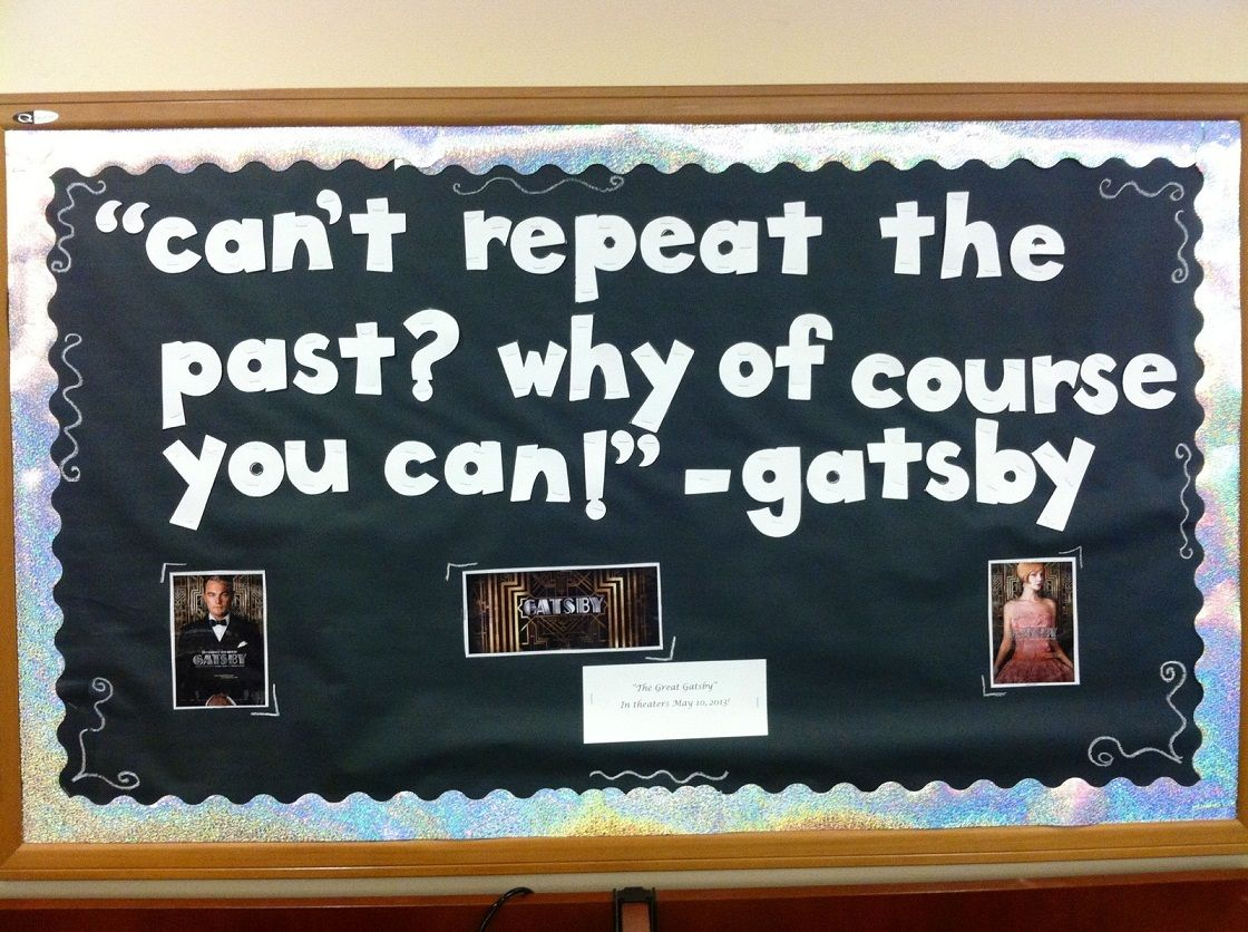 Great Classroom Decor ~ Great gatsby bulletin board our boards displays