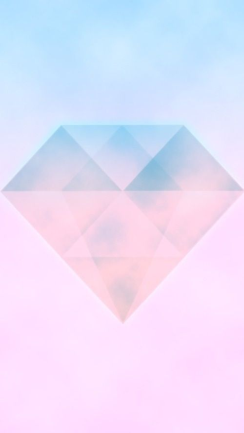 Pastel Pink Ombre Watercolour Diamond Gem Iphone Phone Wallpaper Background Lock Screen Ombre Wallpapers Pink Ombre Wallpaper Iphone Wallpaper Pattern