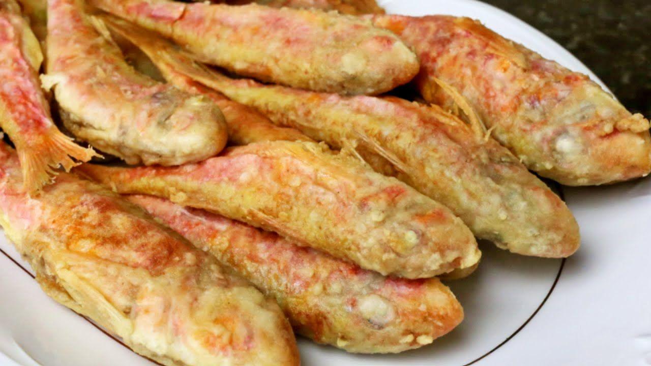 Salmonetes Fritos Recetas Fáciles Pescados Y Mariscos Recetas De Cocina