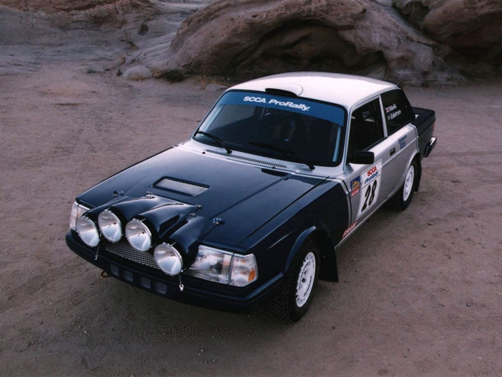 #Volvo 240 Rally Car