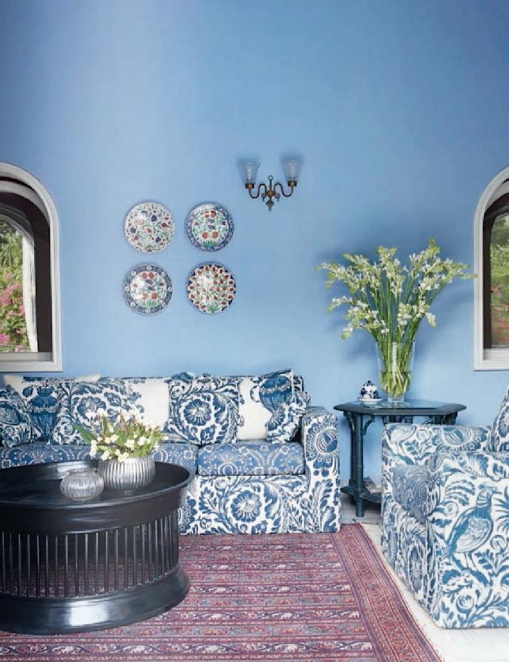 beautiful blue Blue living room, Blue bedroom decor
