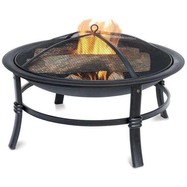 Uniflame 26in Steel Fire Pit (EBW15053) - Outdoor ... on Ace Hardware Fire Pit id=66934