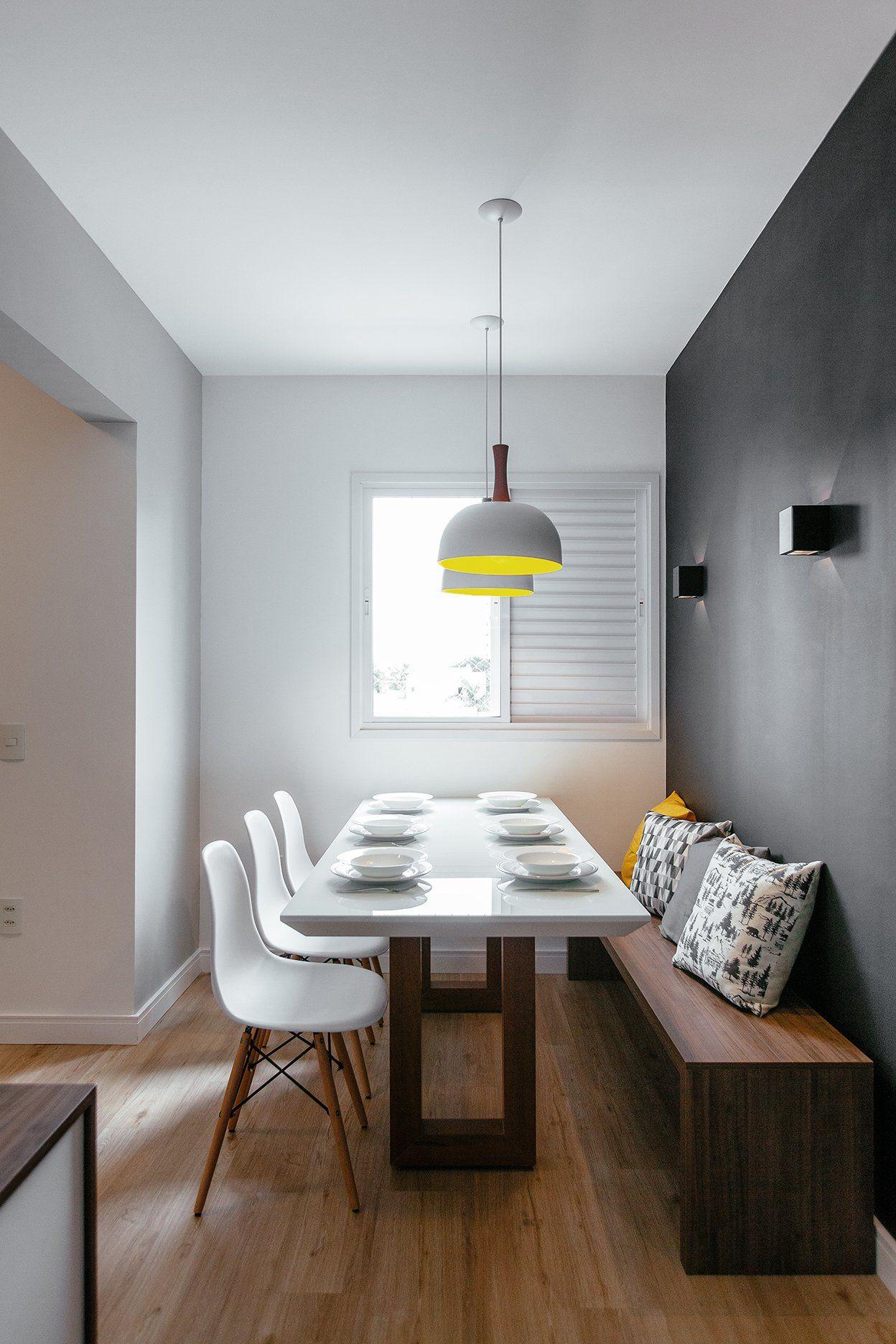 Para receber bem: reforma integra área social de apartamento