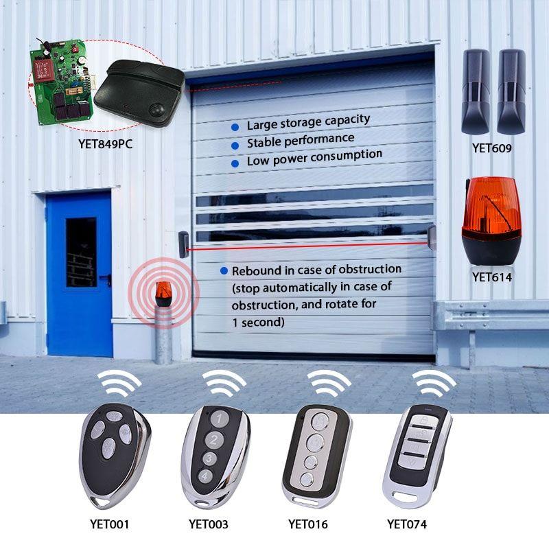Garage Door Receiver Controller And Remote Control Remote Control Alarm Systems For Home Remote