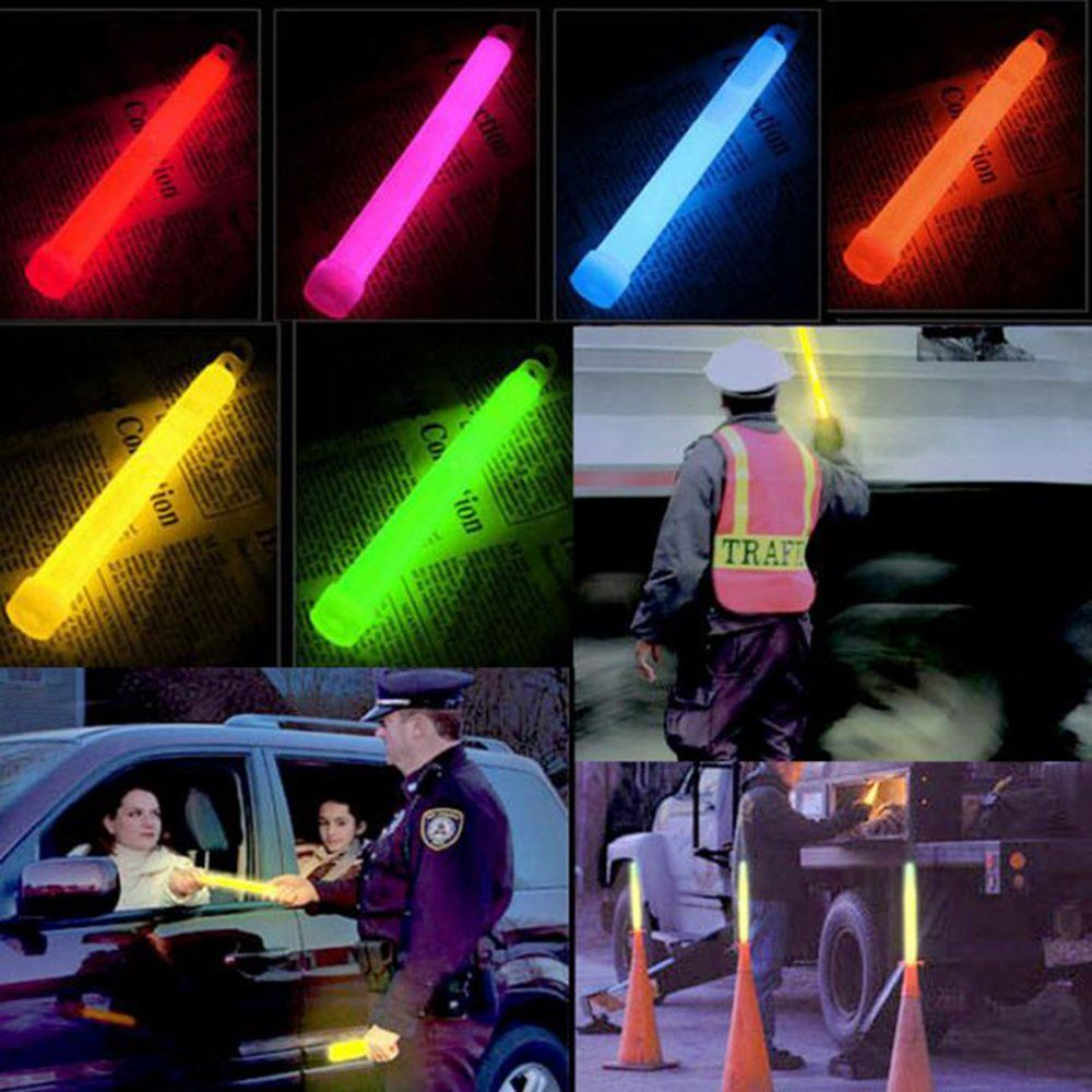 Meanhoo 6 Snap Light Military Grade Emergency Survival Campinghikingandoutdoor Glow Light Sticks Party Fun Saf Stick Lights Industrial Grade Emergency Lighting