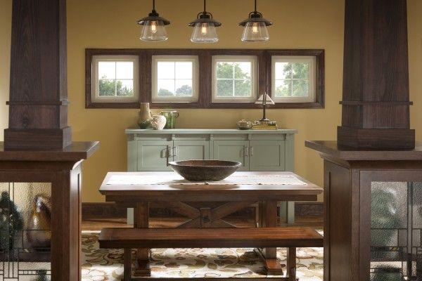 Simonton Profinish Picture Window With Images Kitchen Pictures Rustic Kitchen House Styles