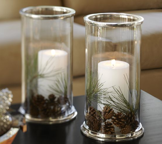 Cute For The Table Glass Hurricane Candle Holder Christmas Hurricanes Christmas Centerpieces