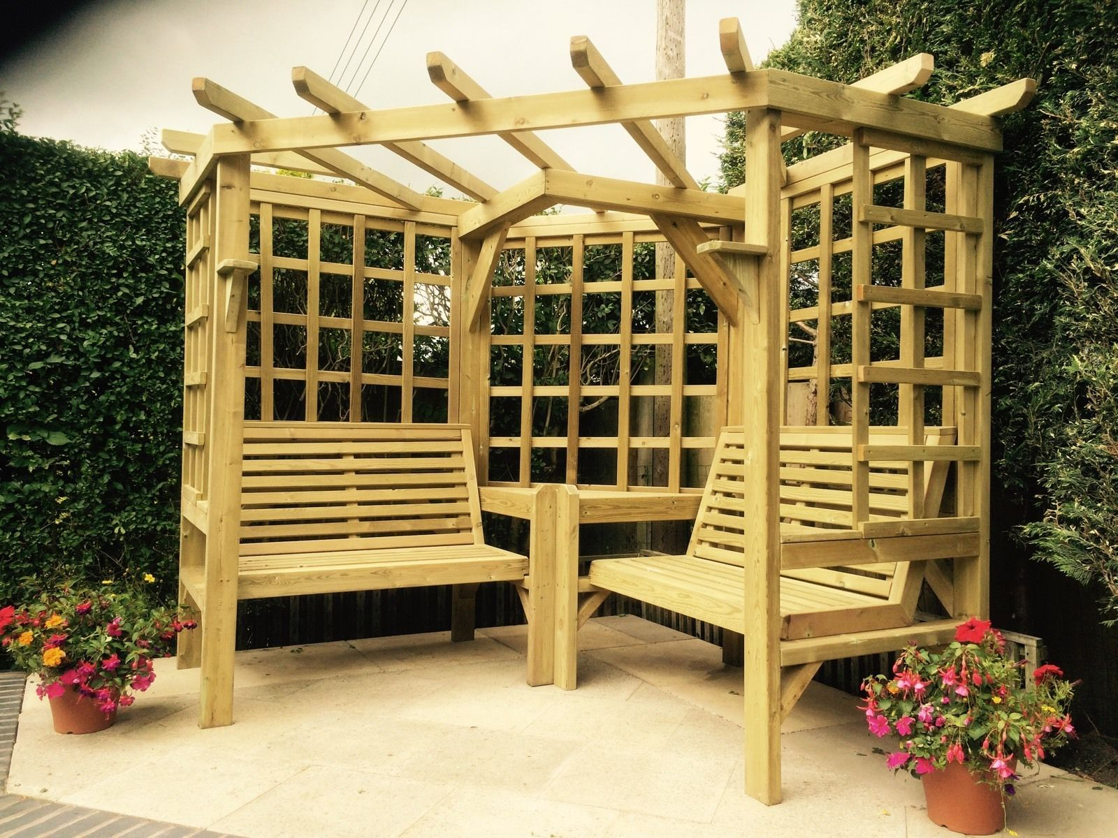 All Of Our Products Are Made From Wood Which Is A Raw Material Therefore There May Be Some Splits And Wooden Garden Furniture Pergola Wooden Garden