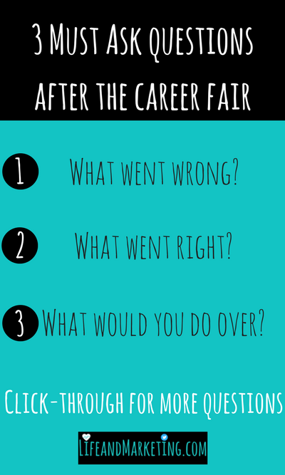 how to prepare for a career fair without getting stressed out life and marketing