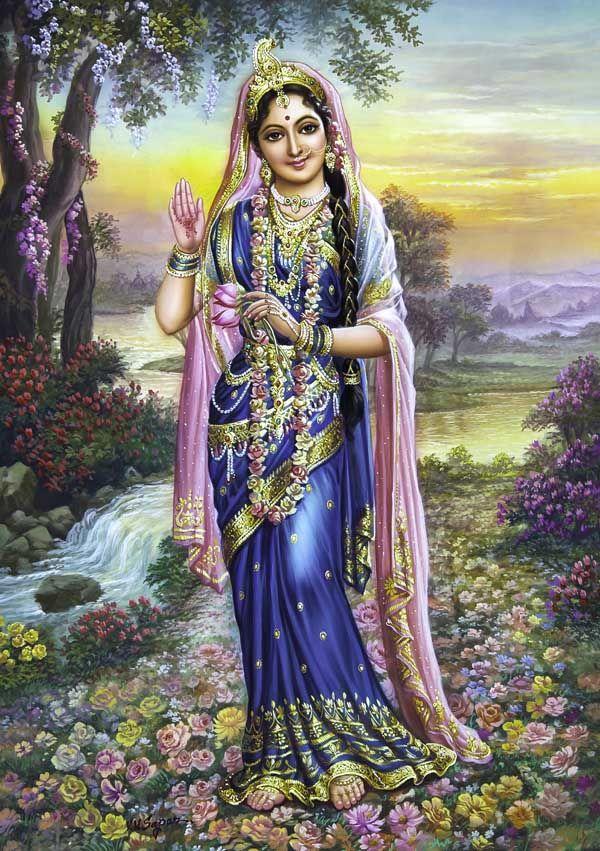 Radharani gundappa pinterest - Radhe krishna image ...