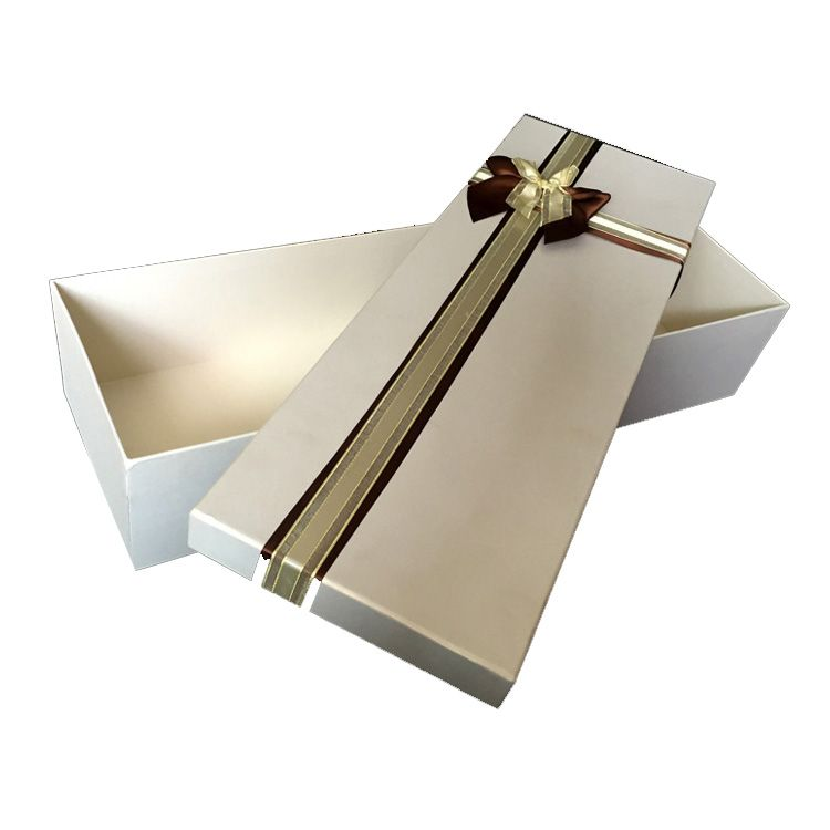 Customized gift packaging box with lid and base and