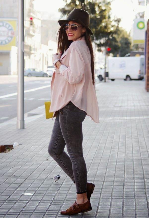1698ba66 Hermosos zapatos bajos de mujer para vestir   Zapatos de moda 2015 ...