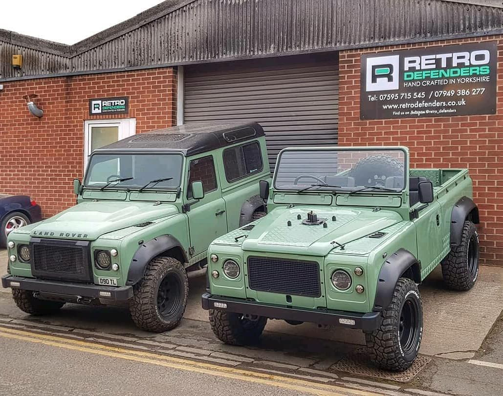 The Real Question Is Hardtop Or Softtop Retro Defenders