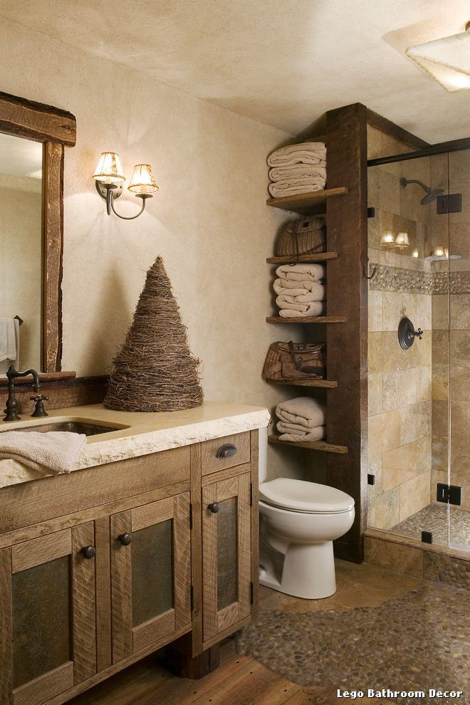 Lego Bathroom Decor From High Camp Home with Rustic More casa