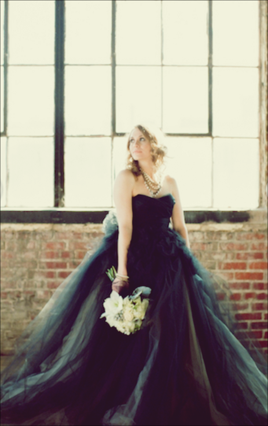 10 unglaubliche schwarze Brautkleider  Schwarzes kleid zur