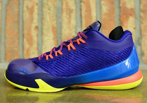 0966a960ab6977 Jordan CP3.VIII – Purple – Blue – Yellow