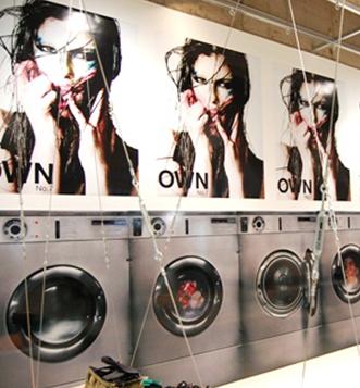 Issey Miyake S Laundromat Exhibition Laundromat Laundry