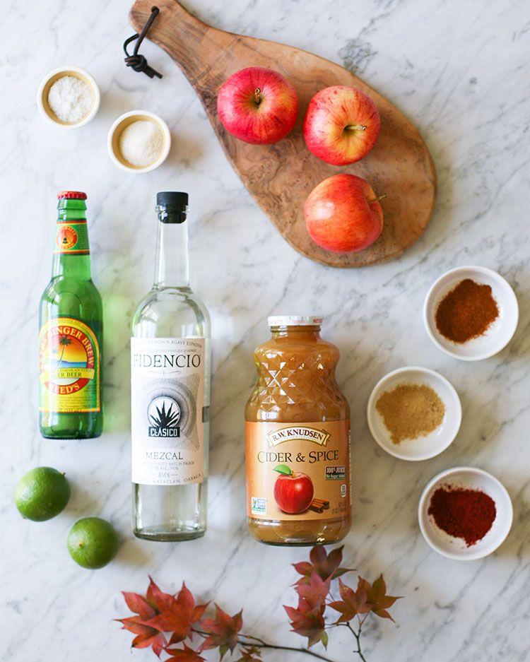 Recipe // Spiced Mezcal Apple Cider Cocktail