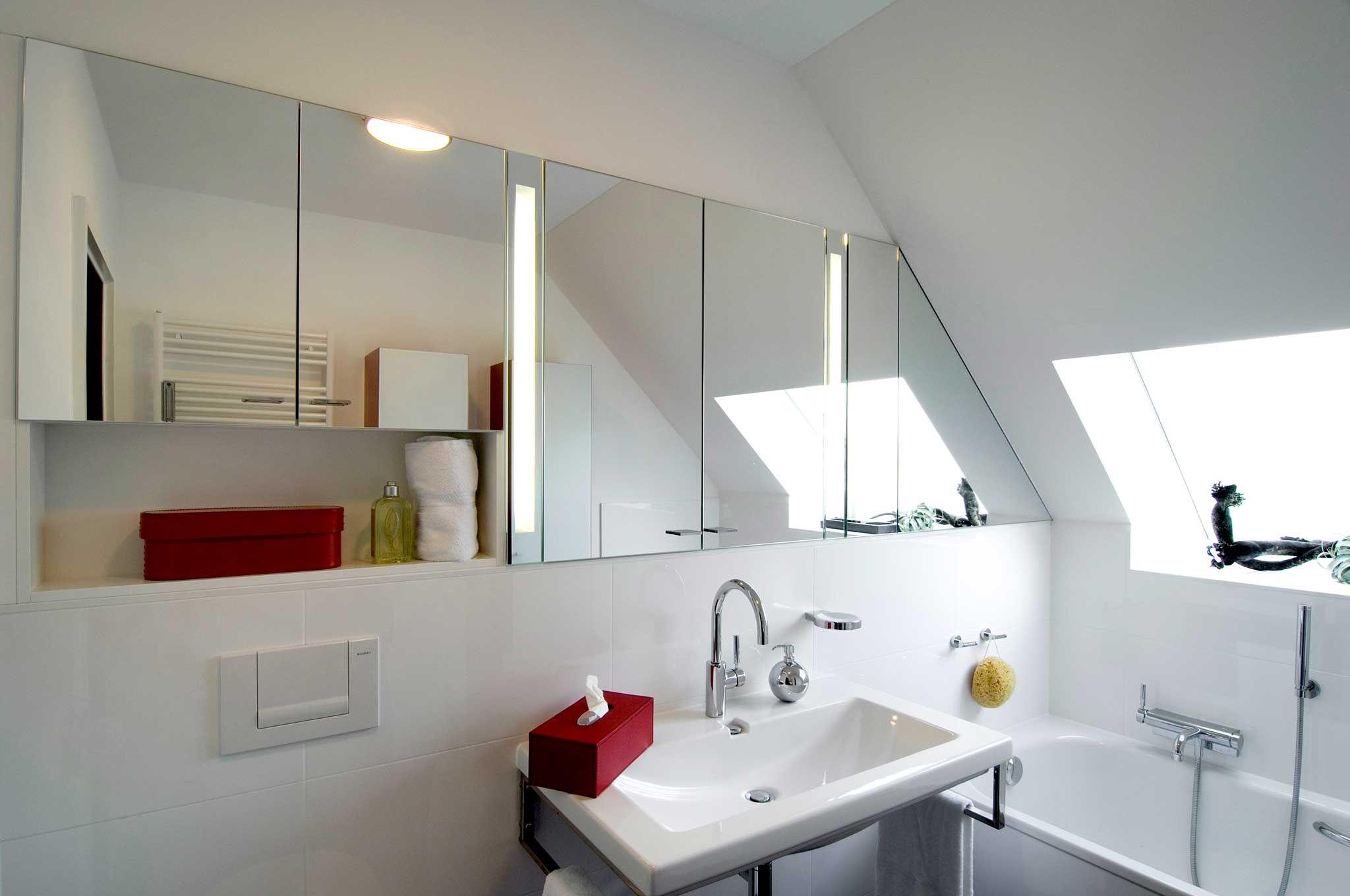 Heimwohl Badezimmer Spiegelschrank Badezimmer Dachschrage