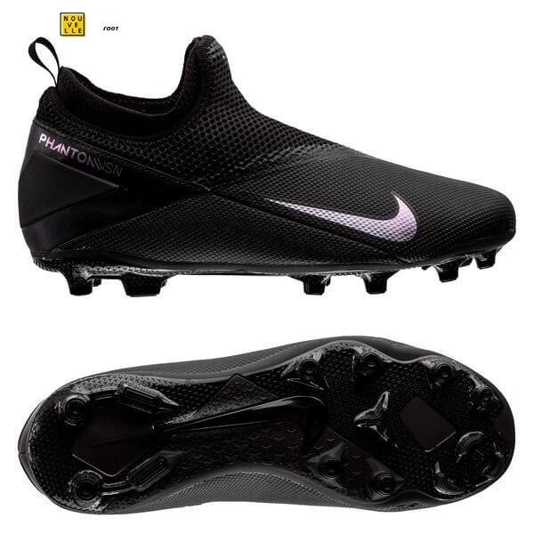 Chaussures De Foot Nike Phantom Vision 2 Academy Enfant DF MG Noir ...