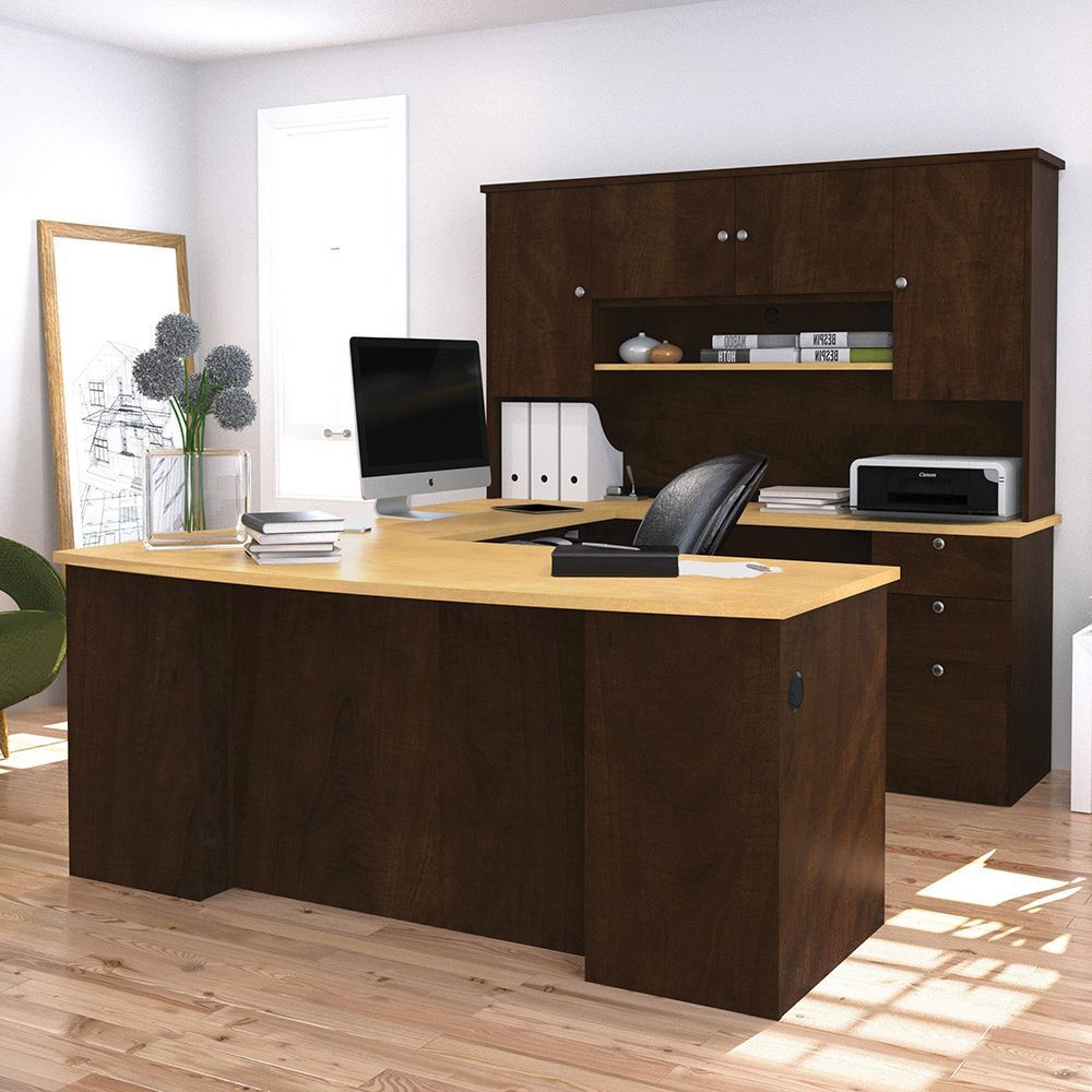Bestar Manhattan U Shaped Workstation Ping The Best Prices On Office Chairsoffice