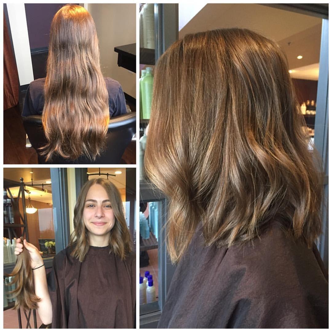 Instagram Photo By The Spa At River Ridge Apr 28 2016 At 4 06pm Utc Donating Hair Long Vs Short Hair Hair Beauty