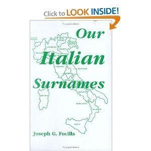 Popular italian last names think